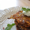 Chipotle Quinoa and Potato Pancakes