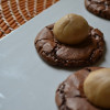 Chocolate Peanut Butter Ball Cookies