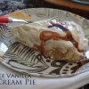 Coffee Vanilla Ice Cream Pie