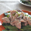 Cranberry Walnut Turkey Salad