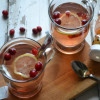 Cranberry Green Tea Hot Toddy