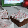 Candy Cane Marshmallow Brownies