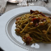 Sun-Dried Tomato & White Bean Spaghetti with Kale Pesto