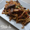 Steak and French Fry Stir Fry