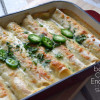 Beer Can Chicken Enchiladas