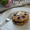 Whole Wheat Blueberry and Sour Cream Pancakes