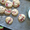 Gluten Free Vegan Strawberry Coconut Cookies