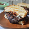 Grilled Portobello Sandwich with Sun-Dried Tomato Pesto