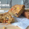 Triple Peanut Butter Swirl Blondies