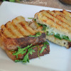 Caramelized Bourbon and Brown Sugar Onion Jam Panini