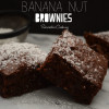 Vegan Banana Nut Brownies