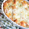 Veggie Loaded Baked Pasta