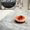 Mini Strawberry Cheesecakes with Chocolate Graham Cracker Crust