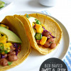 Meatless Monday: Beer Braised Sweet and Spicy Pinto Bean Tacos