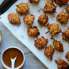 BBQ Chicken and Corn Fritters