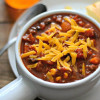 No Fuss Beef and Black Bean Chili