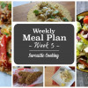 Weekly Meal Plan - Week 5