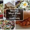 Weekly Meal Plan - Week 7