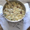 Creamy Stovetop Sun-Dried Tomato Basil Shells and Cheese