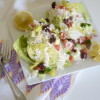 Greek Caesar Wedge Salad