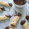Chocolate-Dipped Coconut-Almond Macaroon Bars