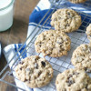 Chocolate Chip and Raisin Oatmeal Cookies
