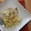 Oven Roasted Cod in Lemon Parsley Brown Butter