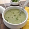 Vegan Creamy Potato and Herb Soup