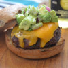 Grilled Tomatillo Burger