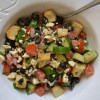 Simple Mediterranean Panzanella