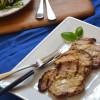 Grilled Dijon-Horseradish Pork Chops
