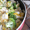 Cheesy Broccoli, Chicken, and Rice