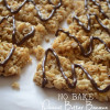 No Bake Peanut Butter Banana Granola Bars
