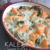Kale and Sweet Potato Casserole