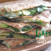 Green Machine Quesadillas