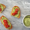 Whipped Avocado-Goat Cheese Toasts