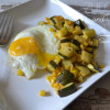Zucchini and Corn Hash