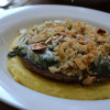 Creamy Spinach Stuffed Portabella Mushrooms