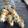 Granola and White Chocolate Covered Pretzels