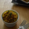 Roasted Coconut Curry Butternut Squash and Cauliflower Mash