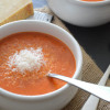 Creamy Roasted Red Pepper Blender Soup