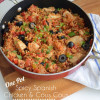 One Pot Spicy Spanish Chicken and Cous Cous