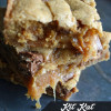 Kit Kat Caramel Blondies