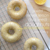 Glazed Meyer Lemon Chia Seed Doughnuts