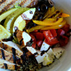 Grilled Balsamic and Lemon Chicken Quinoa Bowls