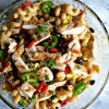 Creamy Grilled Chicken Enchilada Pasta Salad