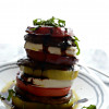Meatless Monday: Grilled Portobello Mushroom and Heirloom Tomato Caprese Stack