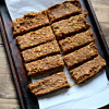 Carrot and Date Granola Bars