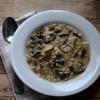 Meatless Monday: Mushroom Barley Soup