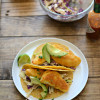 What's for dinner? Crispy Fish Tacos with Southwest Ranch Slaw